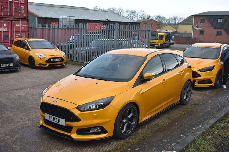 Ford Focus Rs Low Yellow Static Ford Focus Ford Focus St