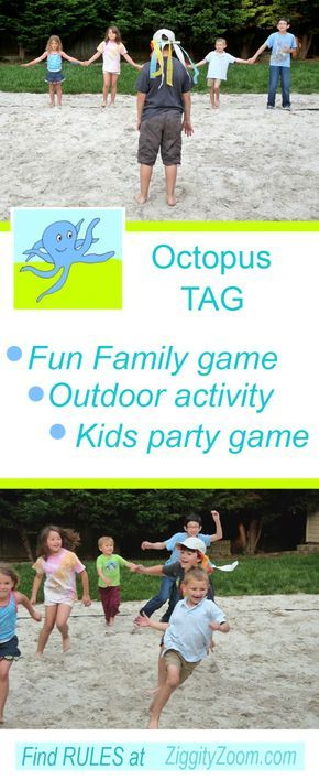 Octopus Tag Outdoor Family Game | summer school | Outdoor