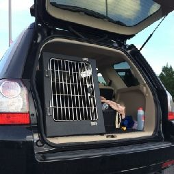 Dog Transit Boxes Hawk Boxes And Cadges Perches Falcony Products Freelander 2 Warwickshire Dogs