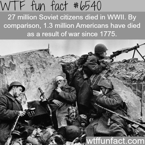 The Soviets Rule In Ww Fun Facts