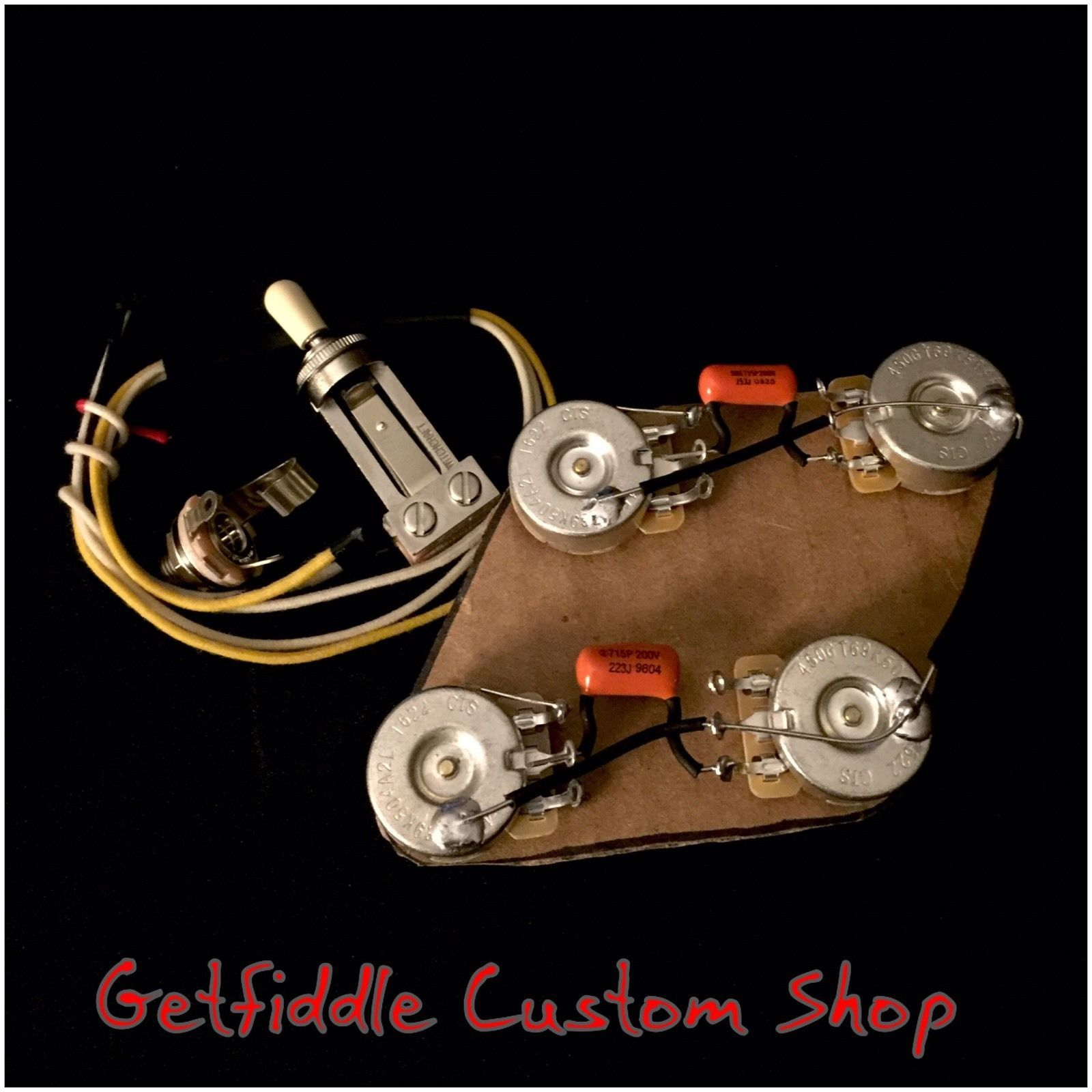 Pleasing Gibson Les Paul 50S Wiring Harness Cts Pots 022Uf 015 Sprague Wiring Cloud Hisonuggs Outletorg