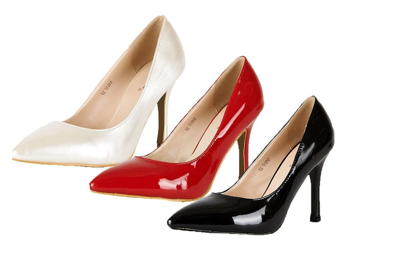 SendIt4Me Pink Two Tone Platform High Heel Court Shoes hjauf1hZ