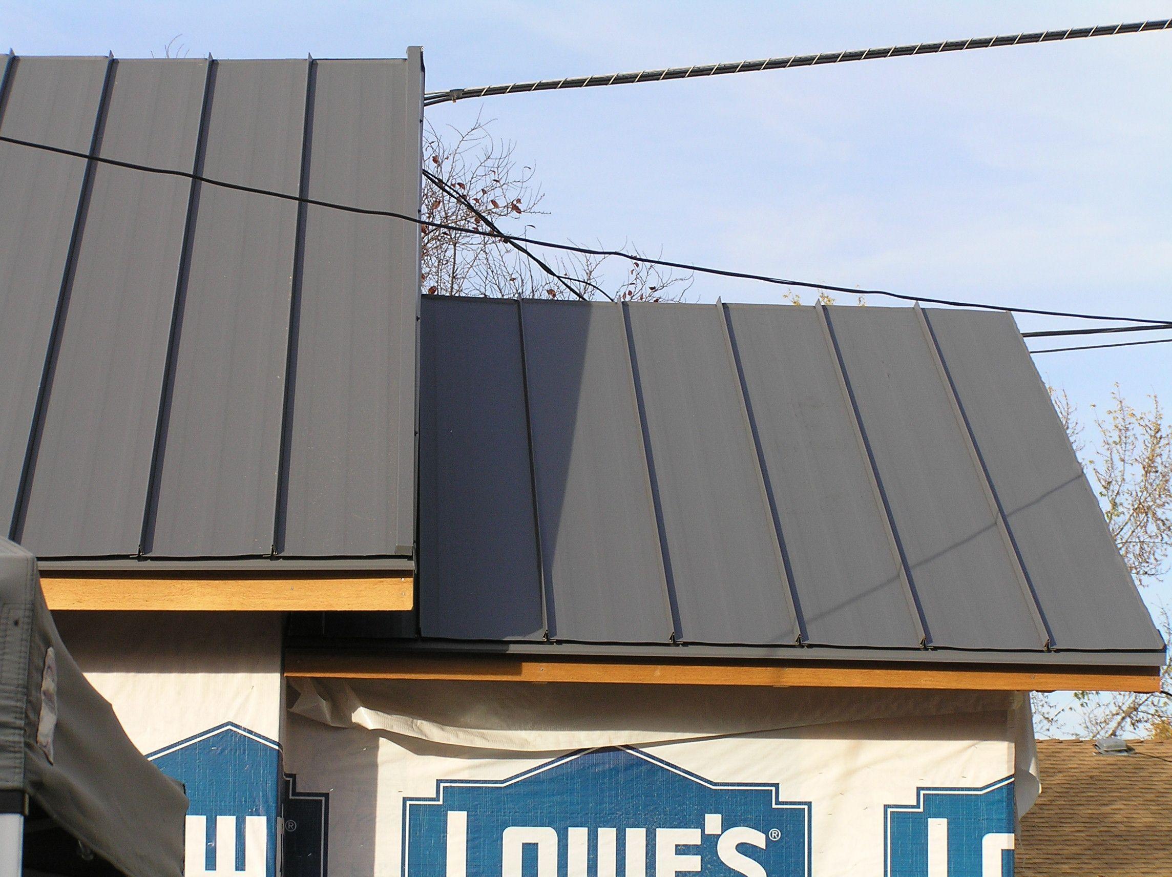 Standing Seam Metal Roof Materials Pinterest Metal