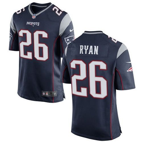 Men New England Patriots 26 Game Jersey