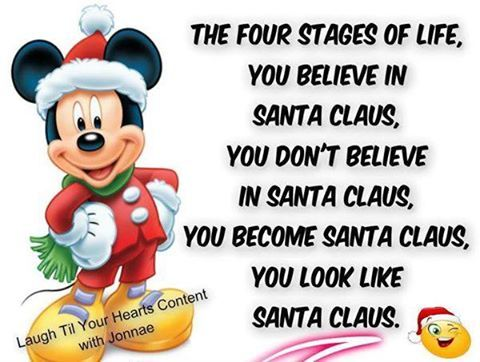Santa Claus Christmas Quotes Funny Disney Quotes Christmas Quotes