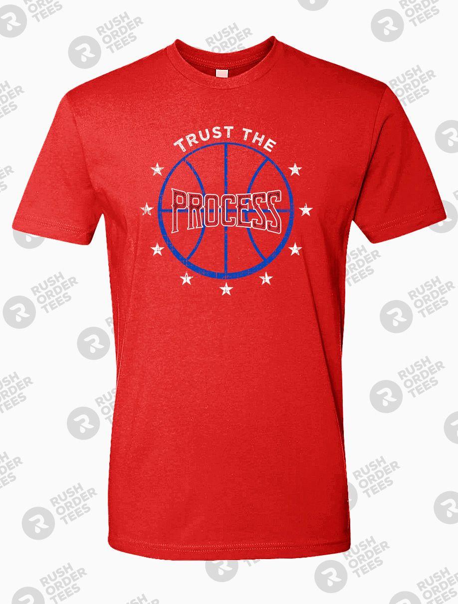 b436f53a148 Trust the Process   Philadelphia Sports Themed T-Shirts ...