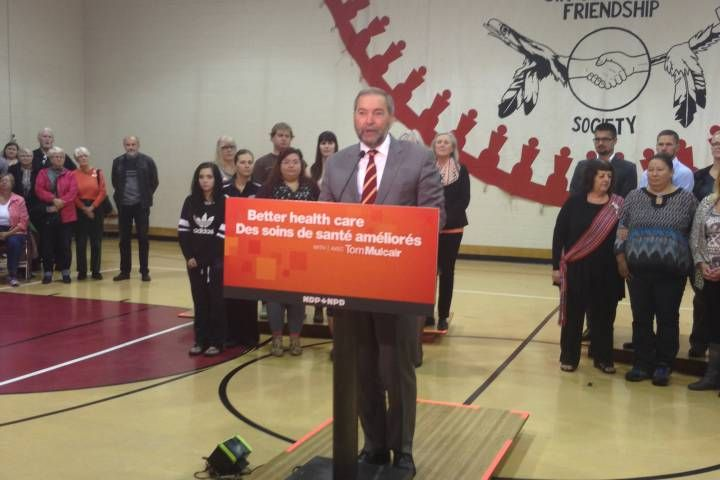 Mulcair promises $100M mental health fund for young ...