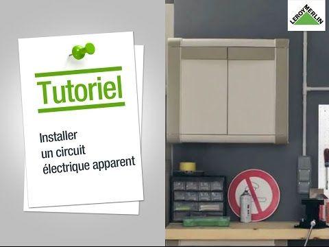 Comment Installer Un Circuit Electrique Apparent Leroy Merlin Youtube Avec Images Rangement Organisation Deco Rangement Organisation Maison