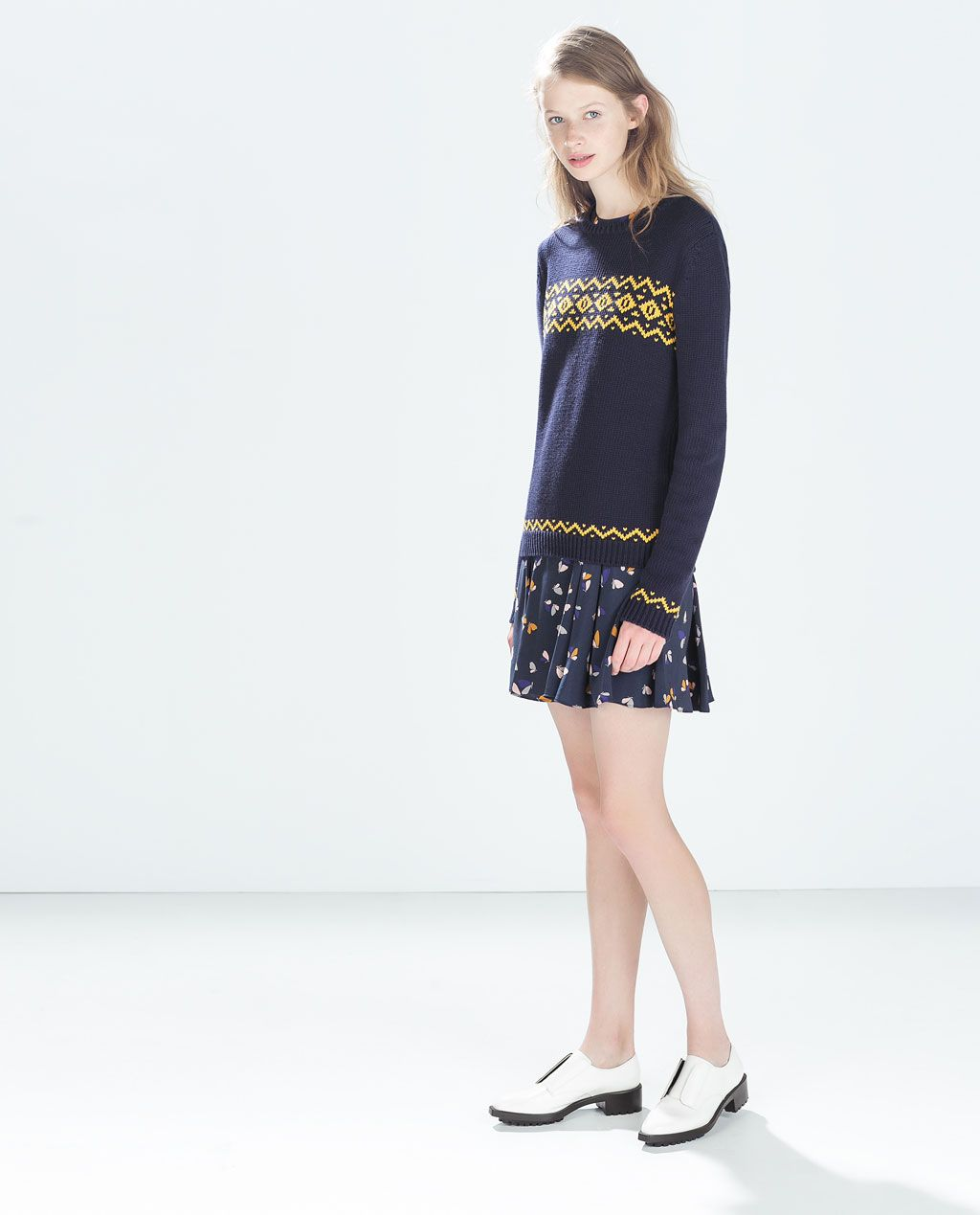 ZARA - MUJER - VESTIDO ESTAMPADO VUELO | fashion | Pinterest | Zara ...