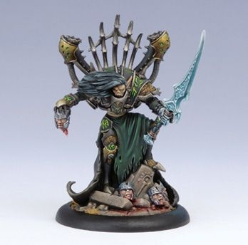 Goreshade the Cursed - Cryx Epic Warcaster