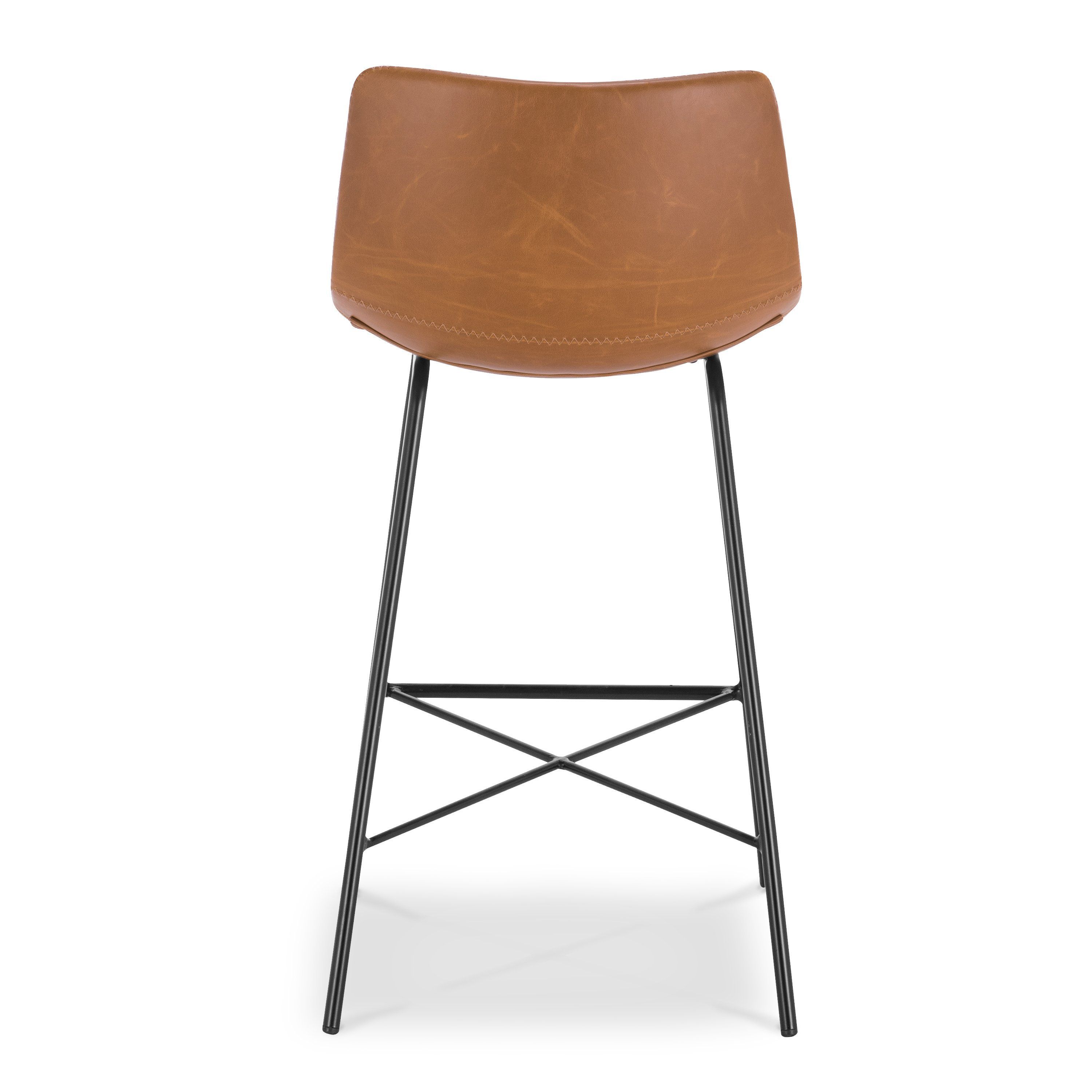 Paxton 24 Counter Stool Counter Stools Stool Leather Counter Stools