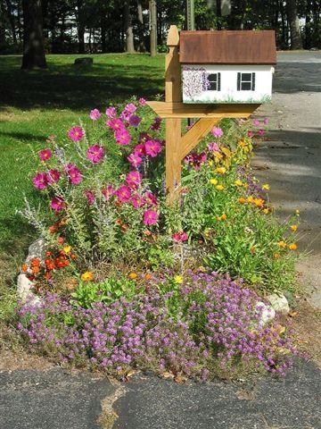 pin mailbox garden