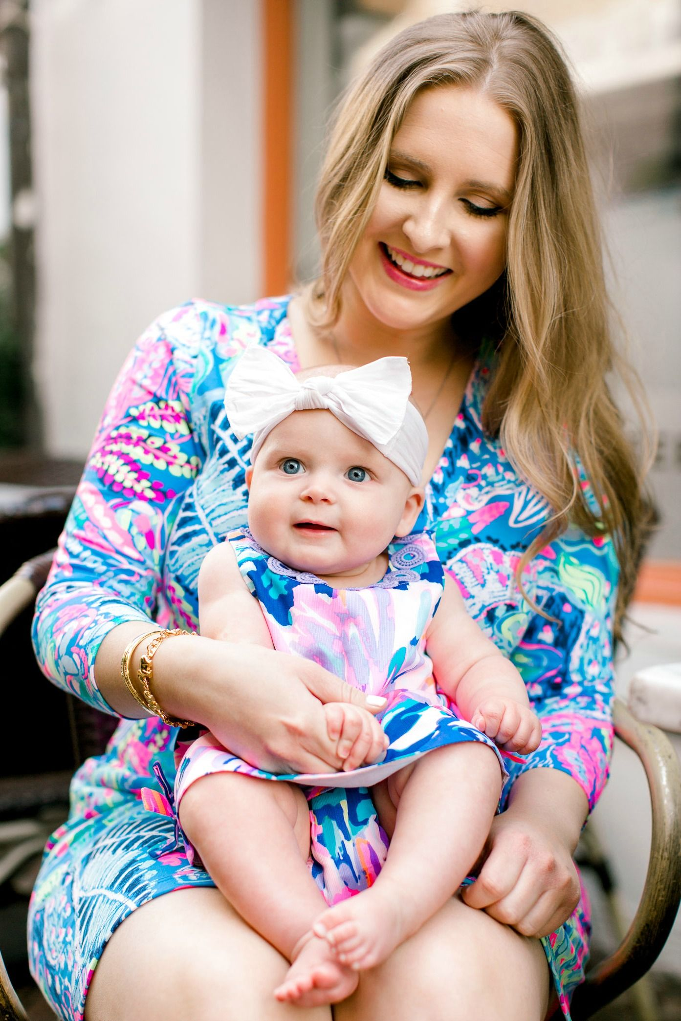 4d2d45f297fd Lilly Pulitzer mommy and me outfit for mama and her baby girl! If you