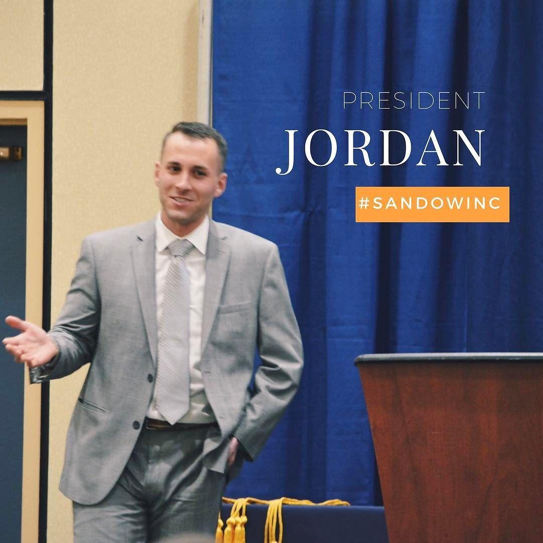 #throwbackthursday  when our President Jordan had a speech at the Honors Reception at #umflint . . . . . . . . . . . . . . . . . . #sandowinc #speech #dedication #leader #success #dreams