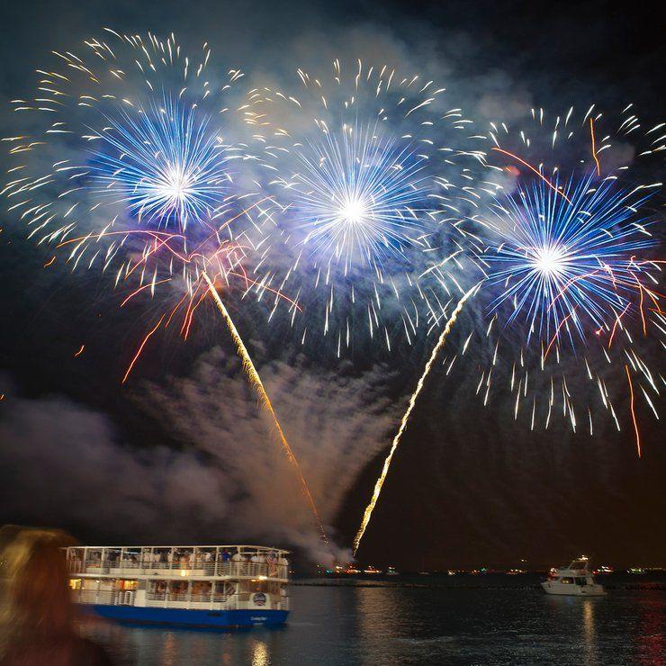Summer Fireworks At Navy Pier 2021 In Chicago Dates Chicago Fireworks Fireworks Best Fireworks
