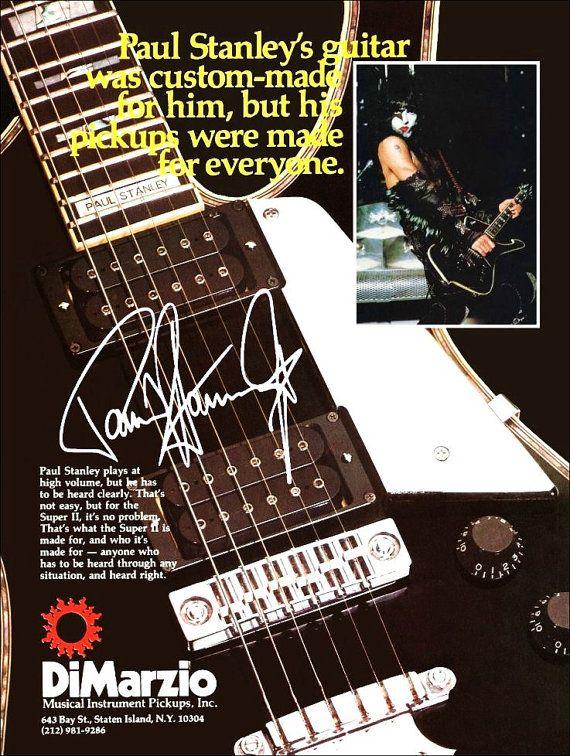 Guitarstand In 2020 Kiss Memorabilia Guitar Posters Guitar Stand
