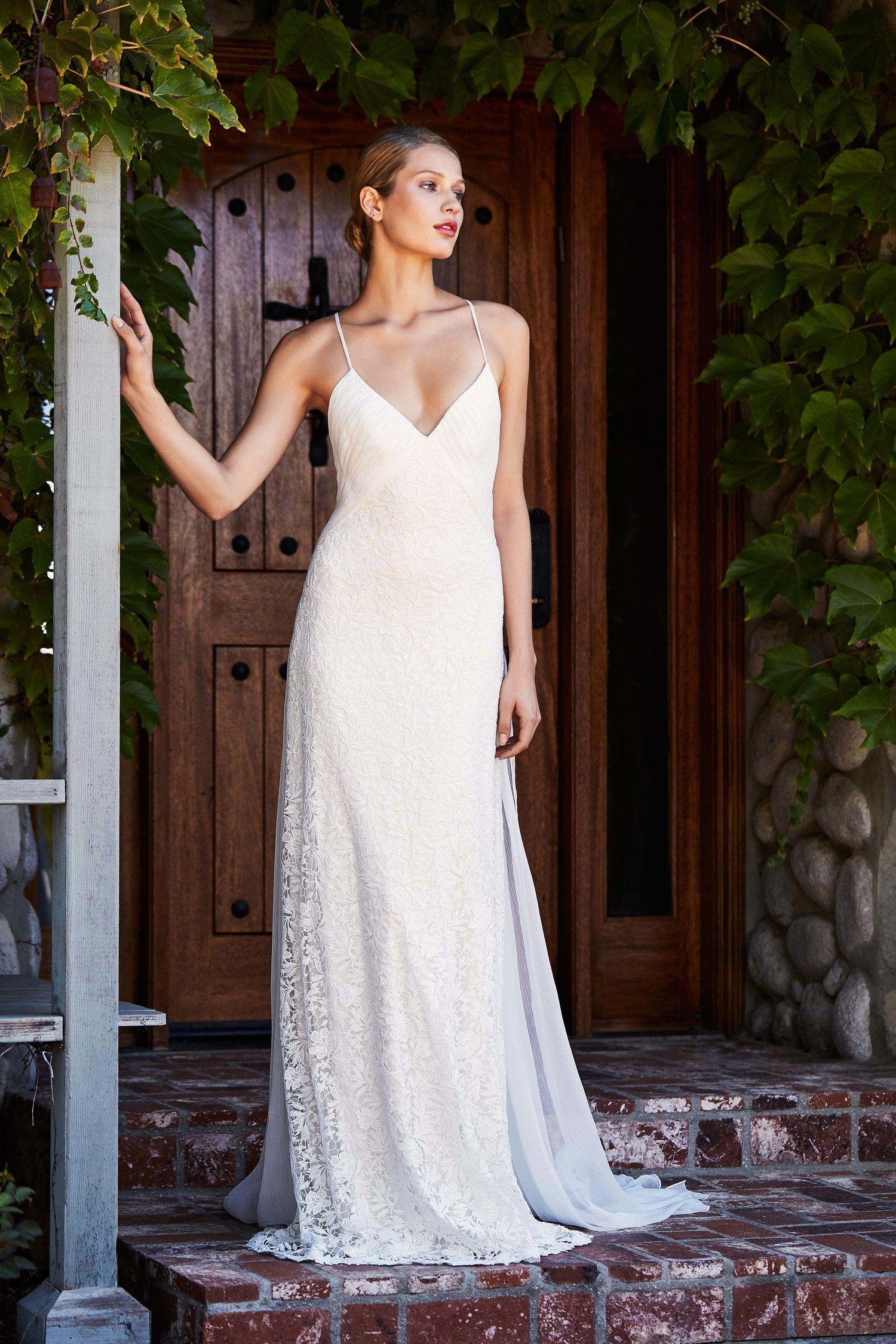 2f1145788c9 Tadashi Shoji Fall 2018 Wedding Dress Collection
