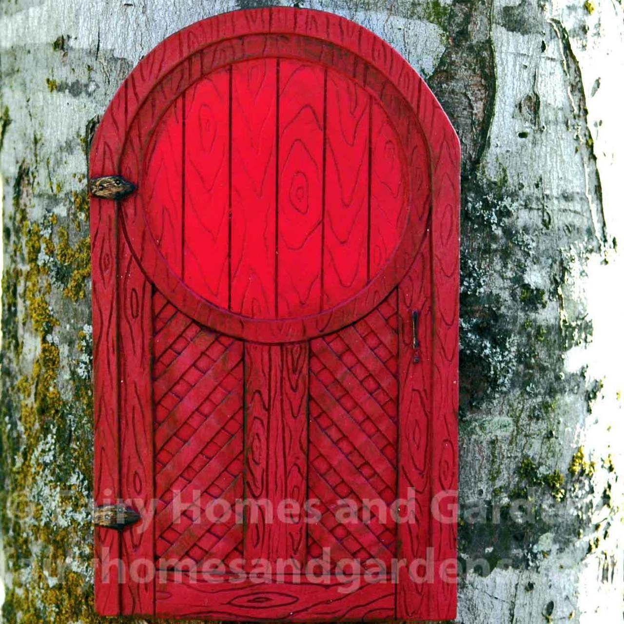 Merriment Red Fairy Door Fairy Doors Fairy And Doors