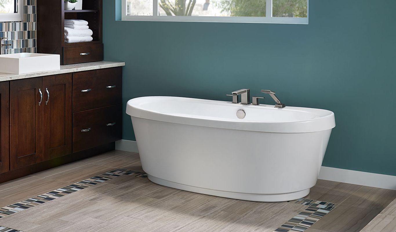 Bravo™ Freestanding Bath | Freestanding bath, Jacuzzi and Bath