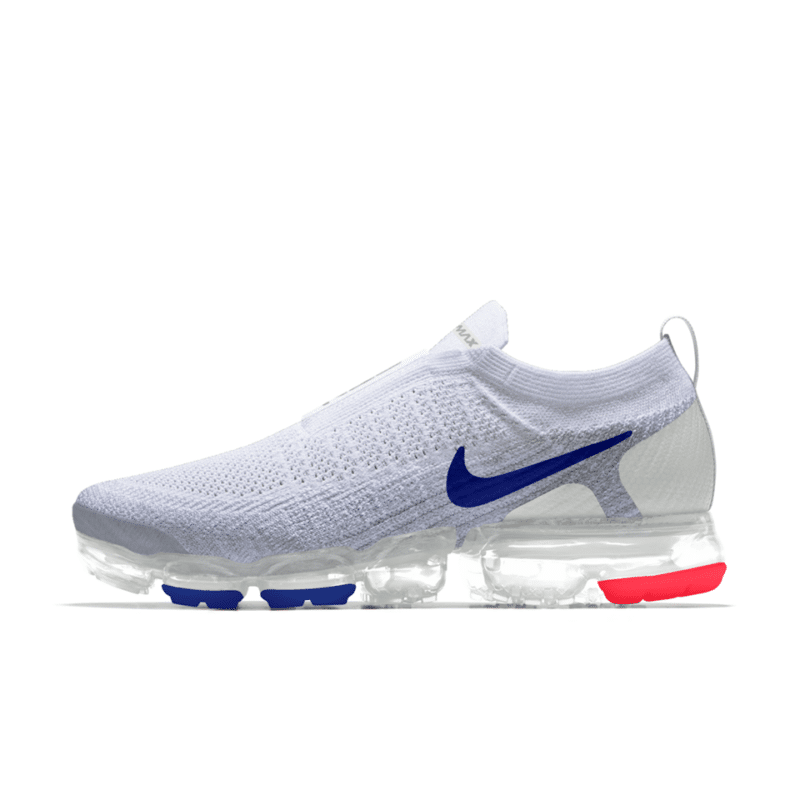 cheap for discount 42cf3 d6dd4 Nike Air VaporMax Laceless Pure Platinum   Nike Shoes   Nike air vapormax,  Sneakers, Sneakers fashion