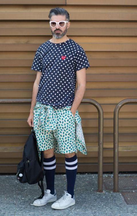 Comment porter la chaussette haute pour homme | Mens fashion