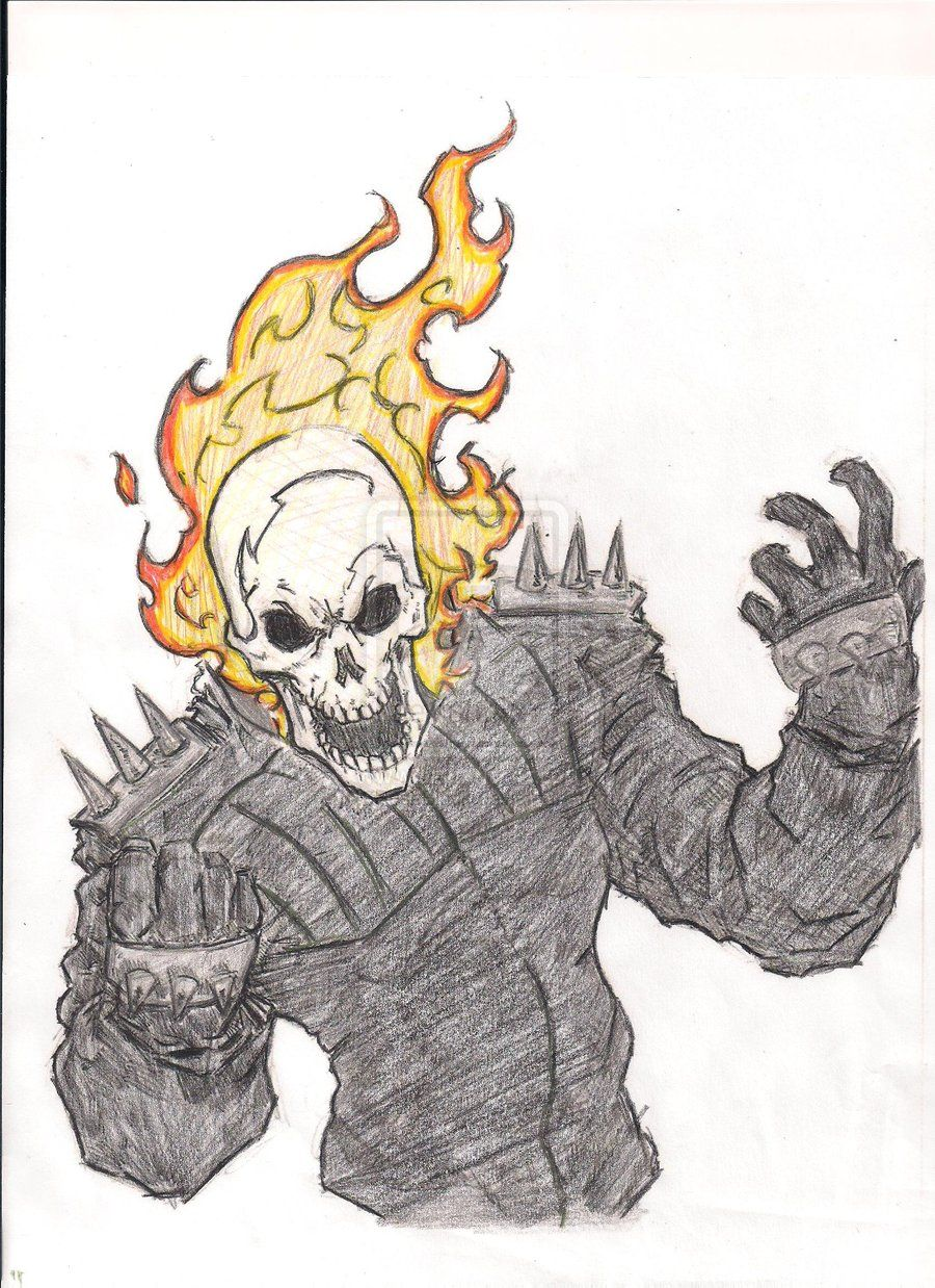 Ghost Rider Drawings - | Ghost rider | Pinterest | Ghost rider ...