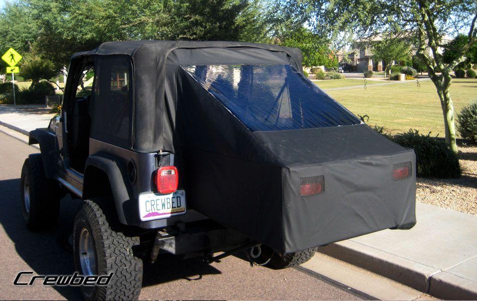 Crewbed Soft Top Crewbed Jeep Tent Jeep Tj Jeep Wrangler Diy