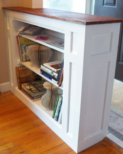 Really Cool Built In Shelf Idea To Separate My Hallway From The Playroom Diy Home Decor Ideas Pinterest Room And Building
