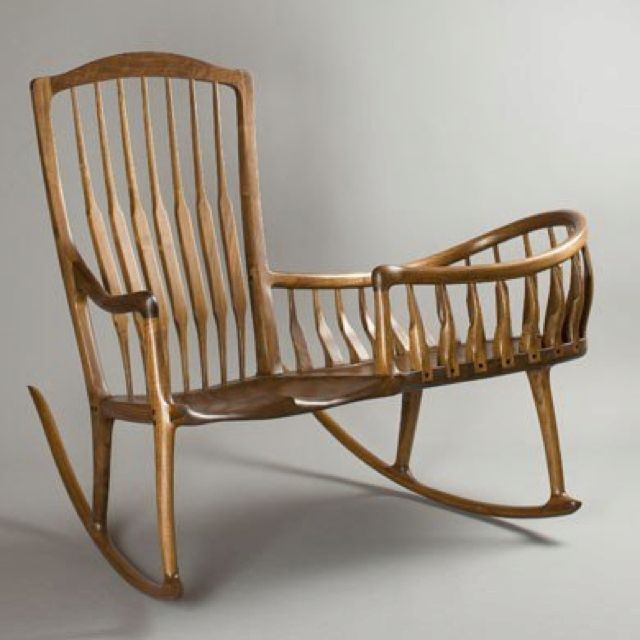 how to make a rocking chair not rock butterfly leather 18th century cradle most awesome invention ever baby sleep then get up and walk away why are these still made