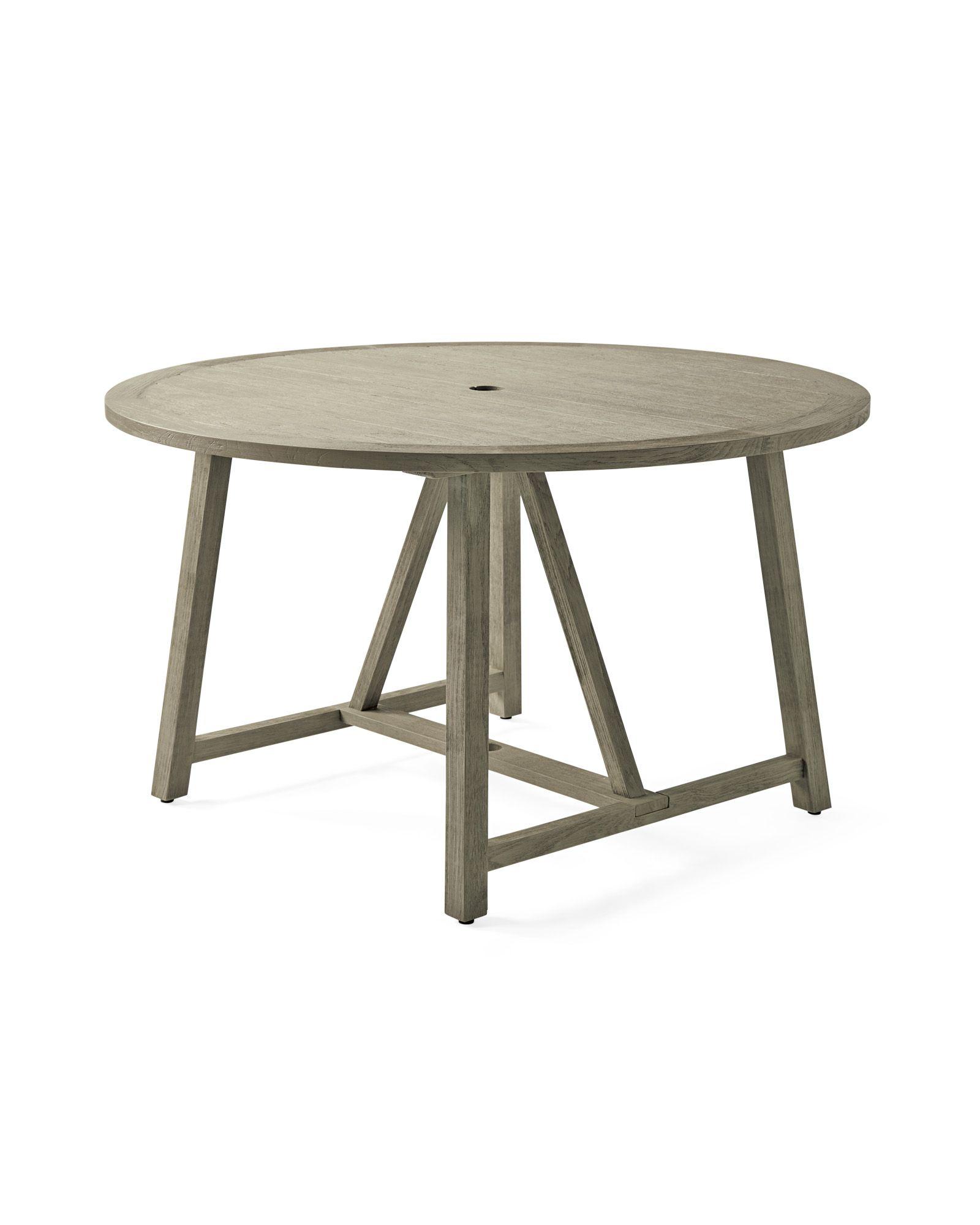 Crosby Teak Round Dining Table Vintage Grey Round Dining Table Dining Table Round Dining [ 2000 x 1600 Pixel ]