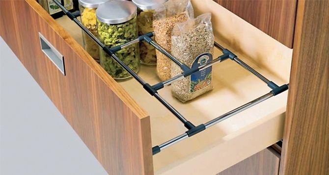 armoires de cuisine et tiroirs- quels mécanismes et design