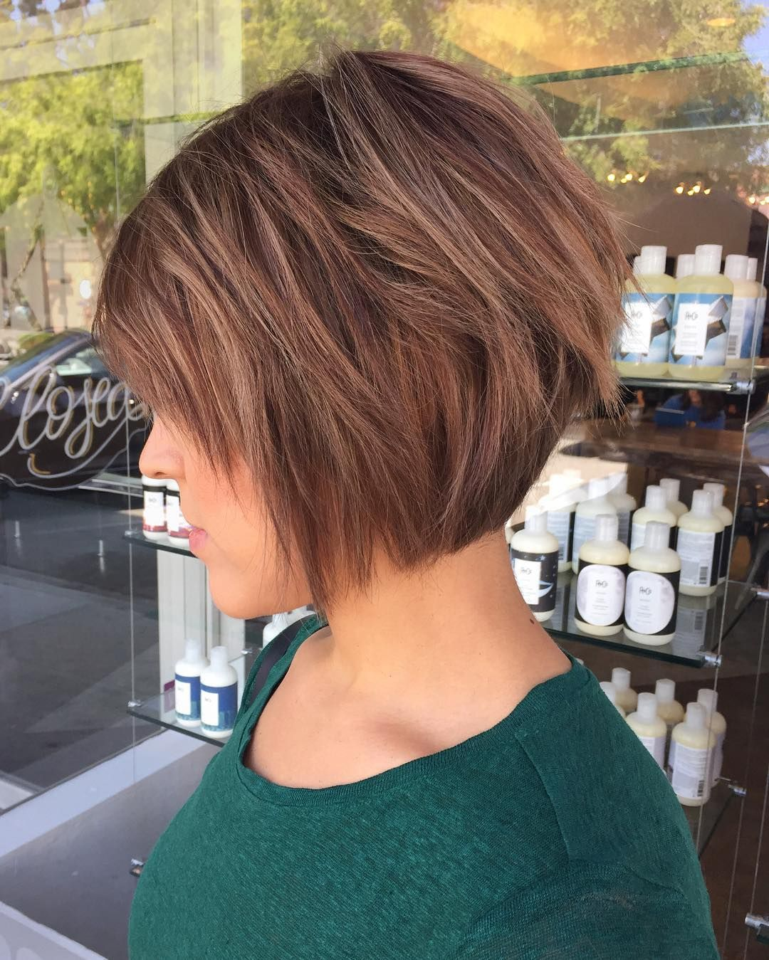 Chic Long and Short Layered Bob Haircuts u Dazzle with Layers