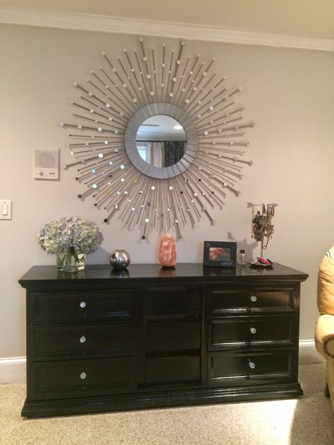 Stacey S Diy Sunburst Mirror Home Decor Mirrors Mirror Crafts