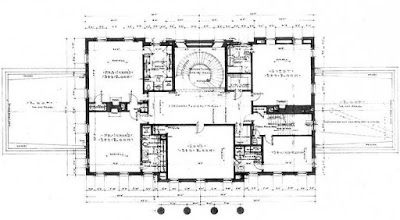 Swan House A Visit To Atlanta To See Shutze S Masterpiece Architectural Floor Plans Vintage House Plans Luxury House Plans