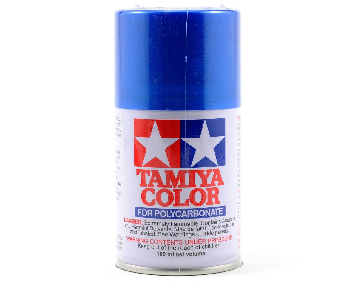 Tamiya Ps 16 Metallic Blue Lexan Spray Paint 3oz Rc