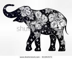 Resultado de imagen para mandala elephant vector