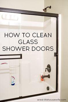 How To Clean Glass Shower Doors Shower Doors Glass Shower Glass Shower Doors