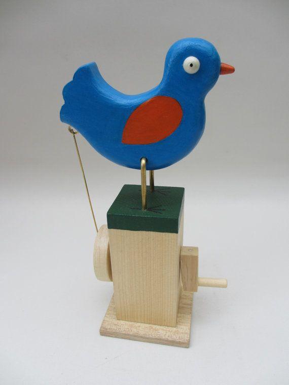 Simple Pecking Bluebird Automaton By Timdonaldautomata