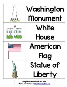 American Symbols Flashcards American Symbols Flashcards Fun Science