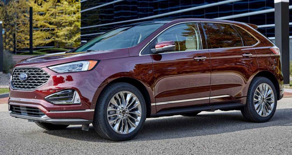 فورد إيدج الجديدة الكروس أوفر العصرية العملانية موقع ويلز Ford Edge Ford Fusion New Ford Edge