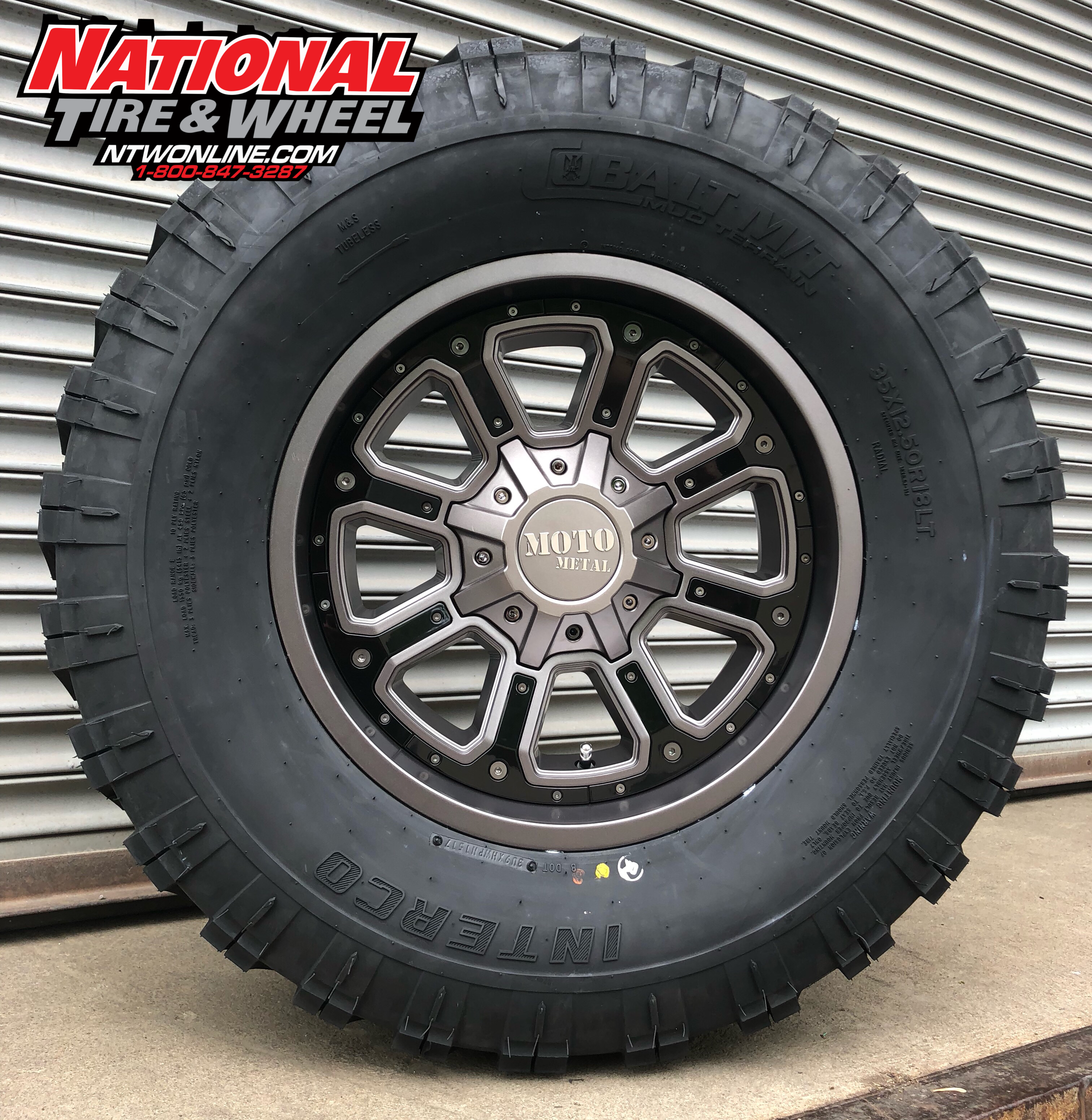National Tire And Wheel >> 18x9 Moto Metal Type 984 Shift Mounted Up To A 35x12 50r18 Super