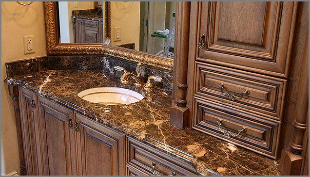 Nice Cabinet Colors Marble Bathroom Master Bathroom Update