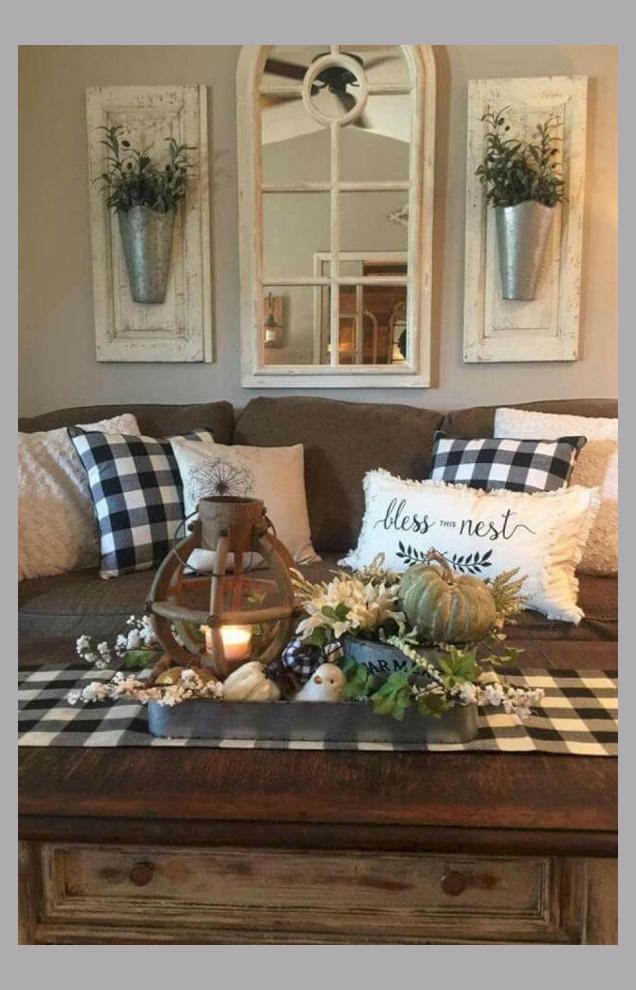 Photo of Beautiful Rustic Farmhouse Living Room Decor Ideas 3 living #room #beautiful #ru…