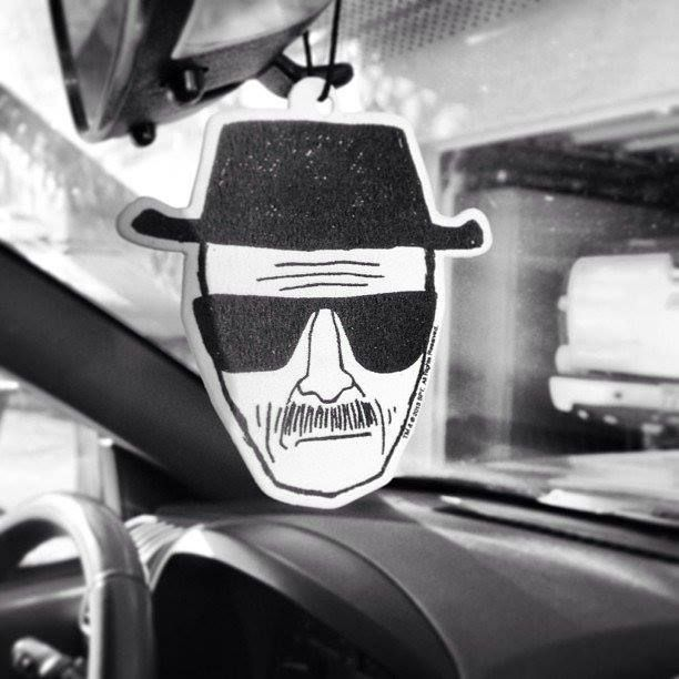 BREAKING BAD Heisenberg Die-Cut Air Freshner Officially Licensed
