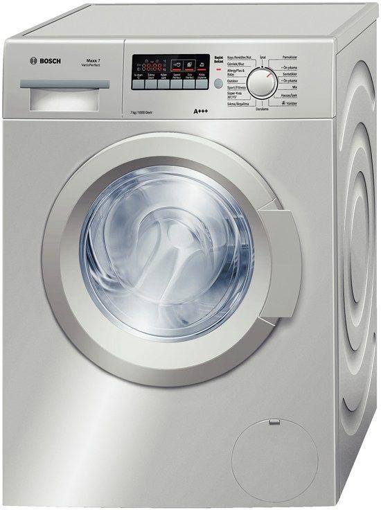 Bosch WAK2020STR 7Kg.1000 Devir A+++ Gümüş Çamaşır Makinesi