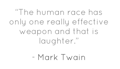 The importance of humour