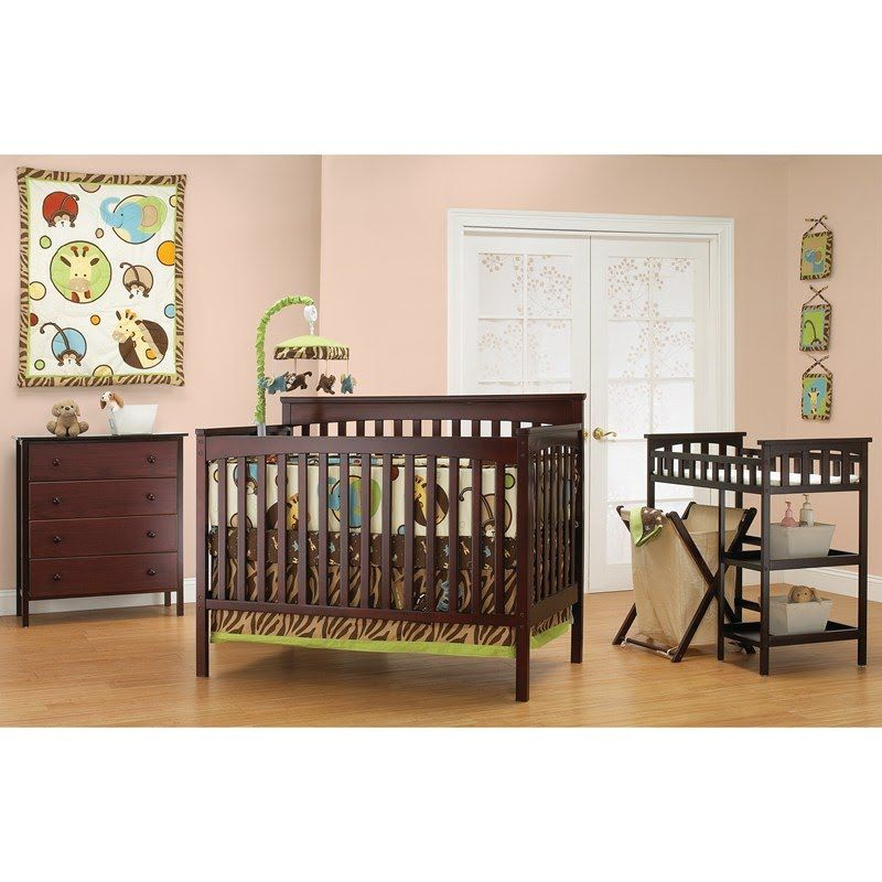 Petite Paradise Room In A Box Cherry 380935904 Cribs Furniture Burlington Coat Factory Baby Furniture Sets Baby Furniture Cribs