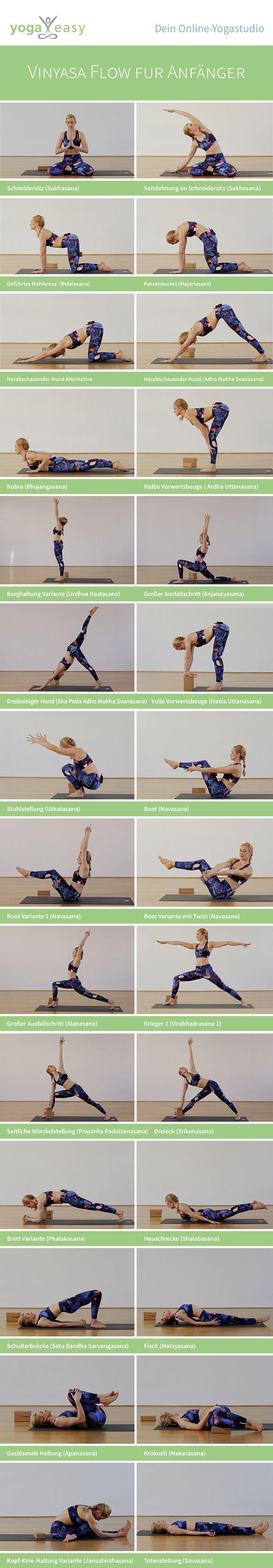 Yoga für Anfänger   der basic doktor yoga flow.   Yoga anfänger ...