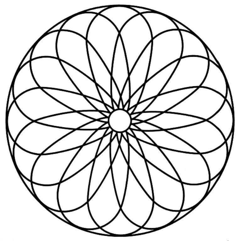 Pin by Mazlinda Bostan on lindaaman Mandala coloring