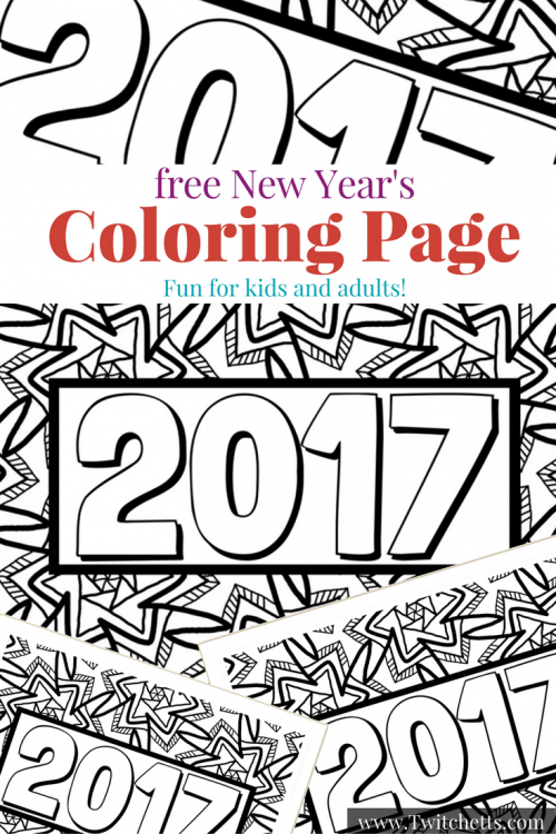 New Year S Eve With Kids A Coloring Page And Activity Ideas New